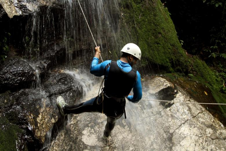 Canyoning in Valnerina
