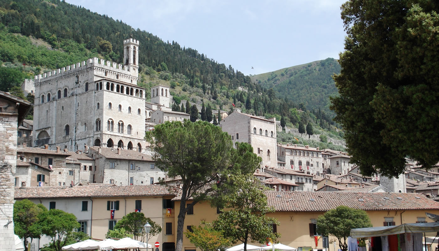 Gubbio, the city of the Ceri