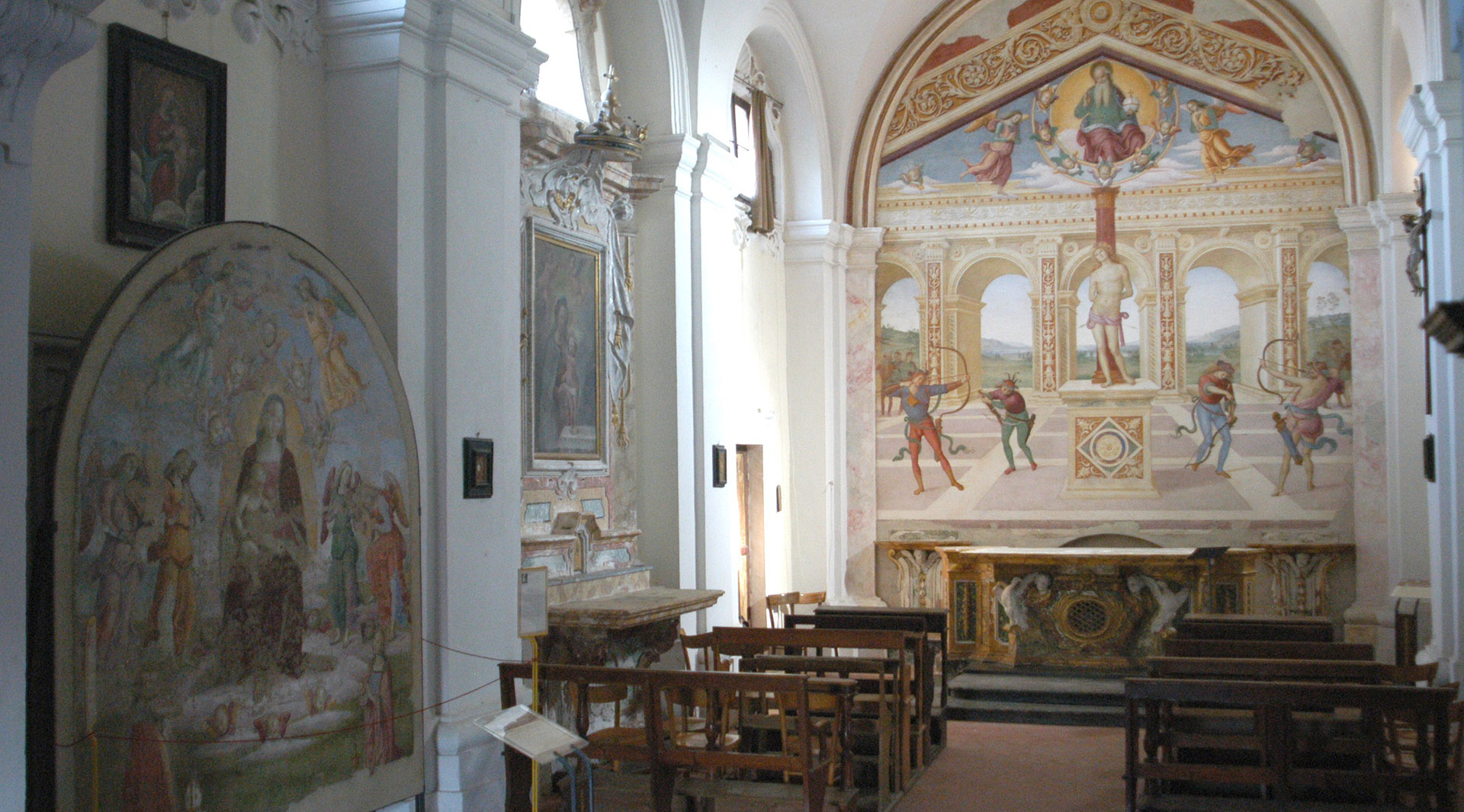 Church of St. Sebastian - Panicale