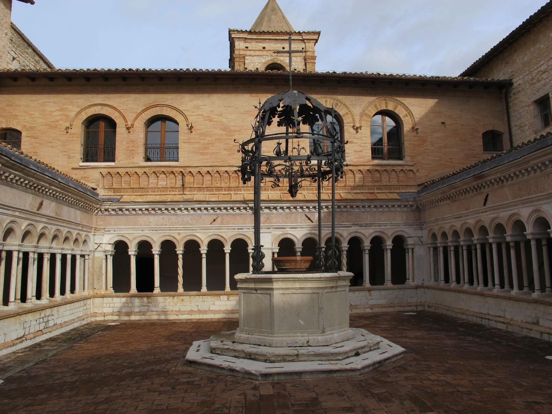 Abbazia di Santa Croce di Sassovivo | www.umbriatourism.it