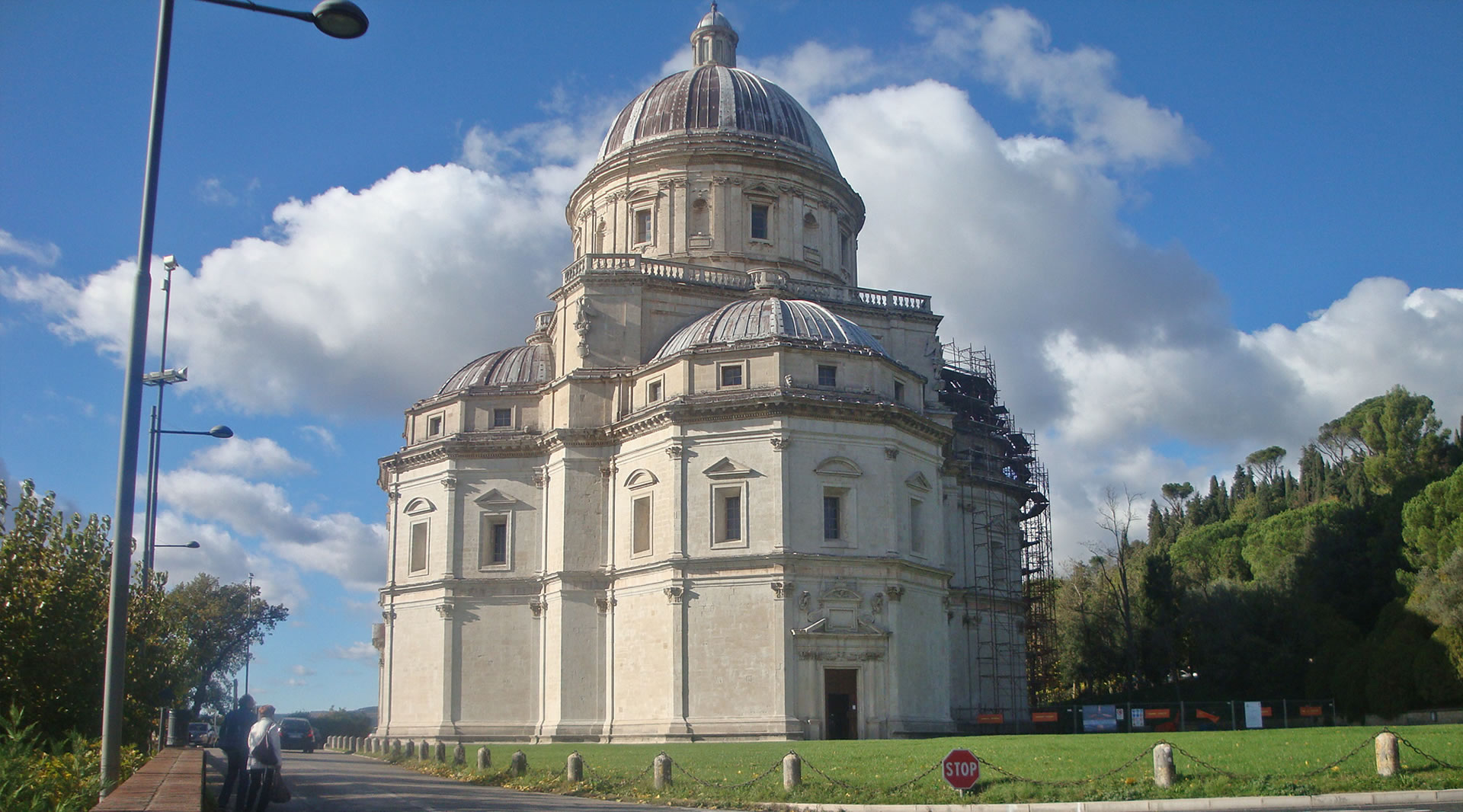The church of Santa Maria della Consolazione