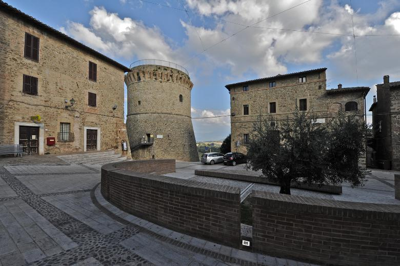 The fortress of Gualdo Cattaneo