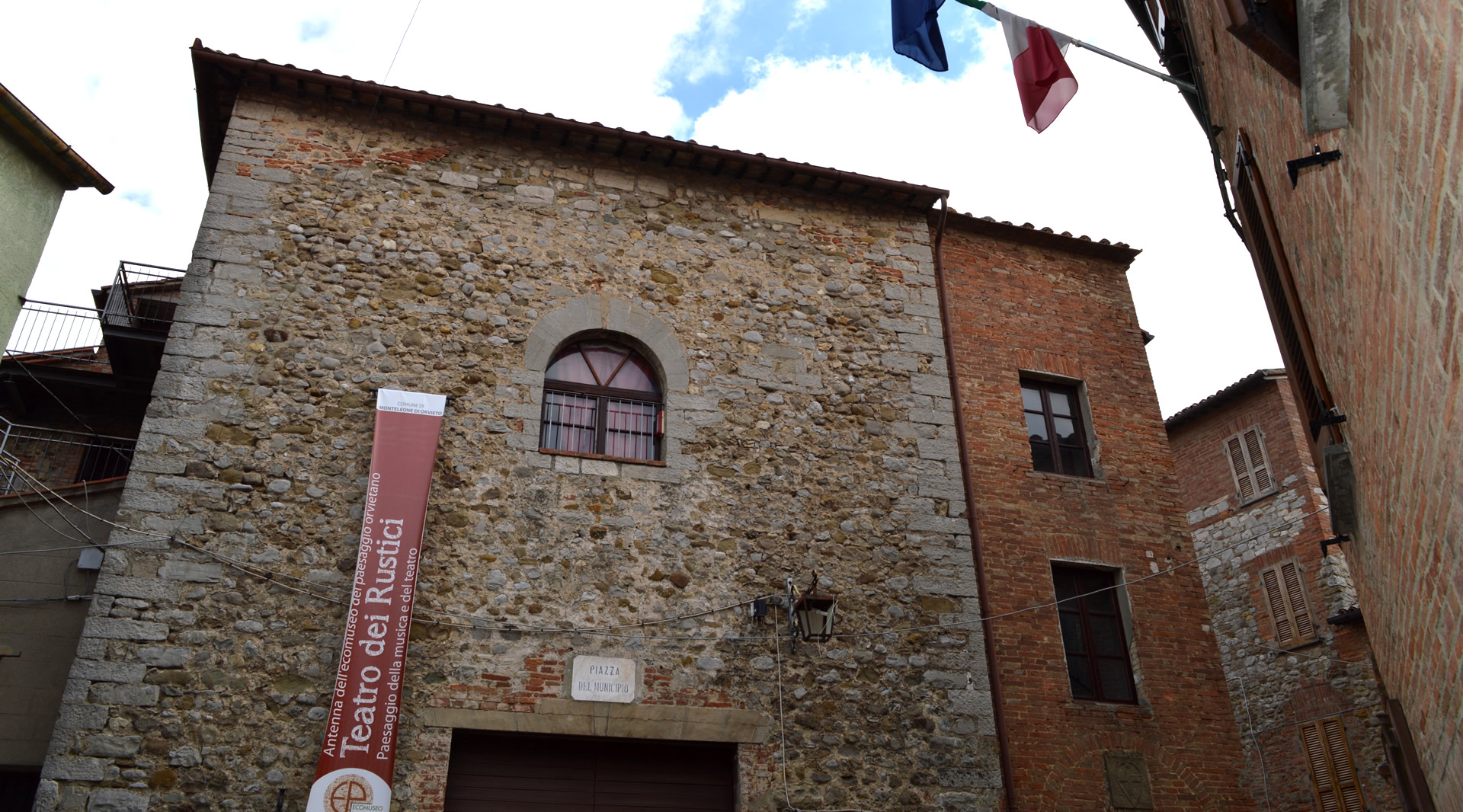 The Theatre of the Rustici - Monteleone di Orvieto