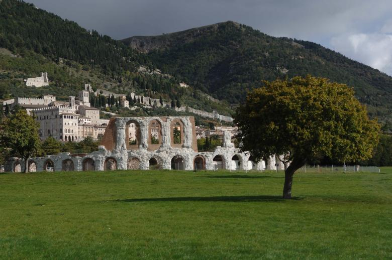 The Roman Theater - Gubbio