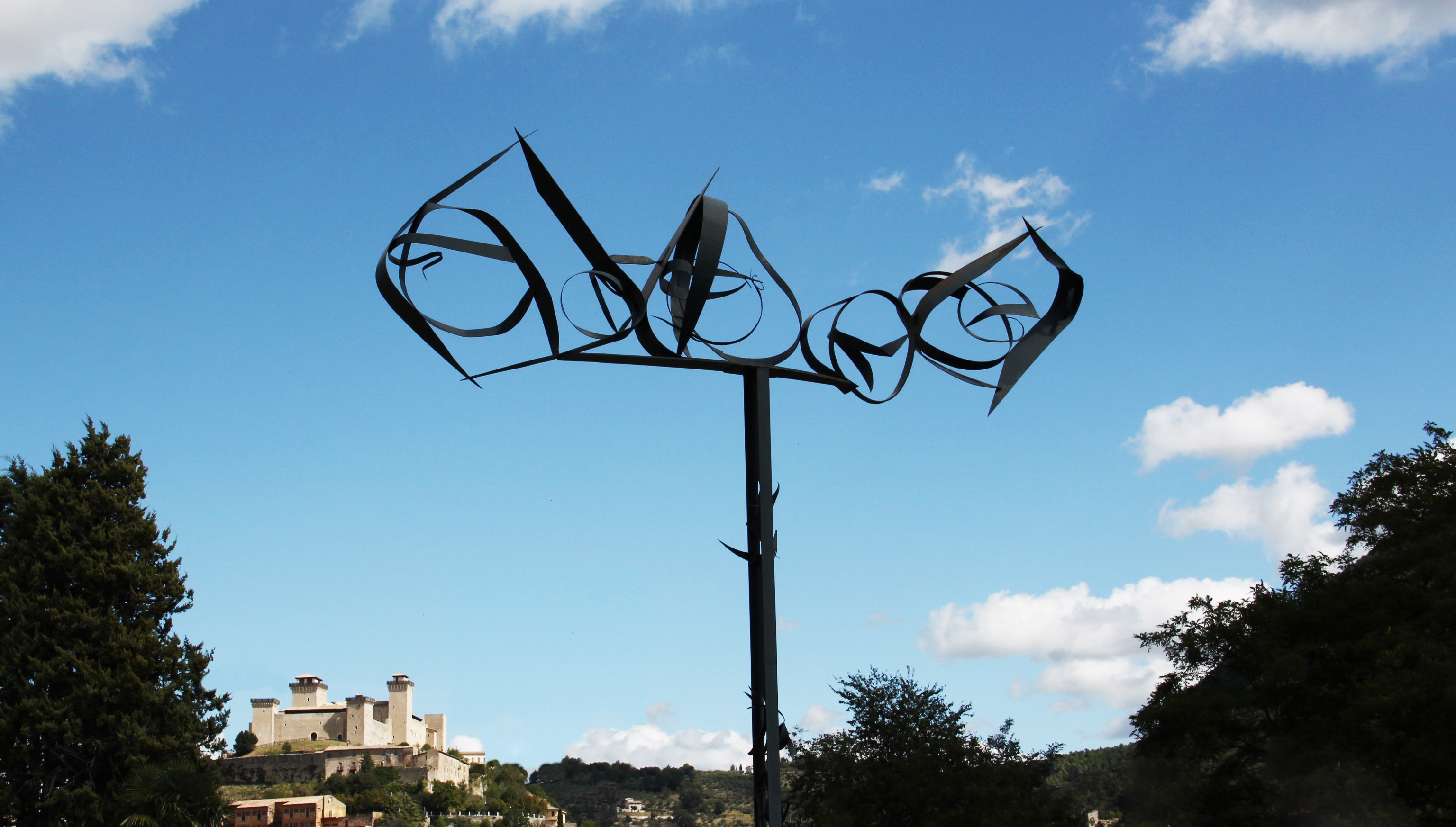 Sculptures in the city - Spoleto 1962