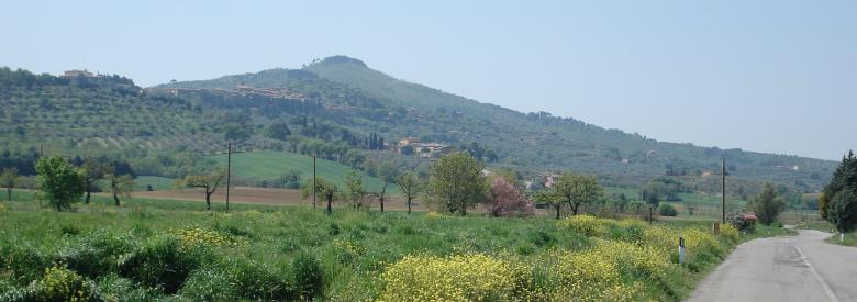 View of Panicale