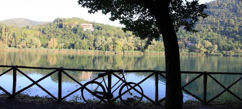 Cycling to the Marmore Waterfall and Piediluco
