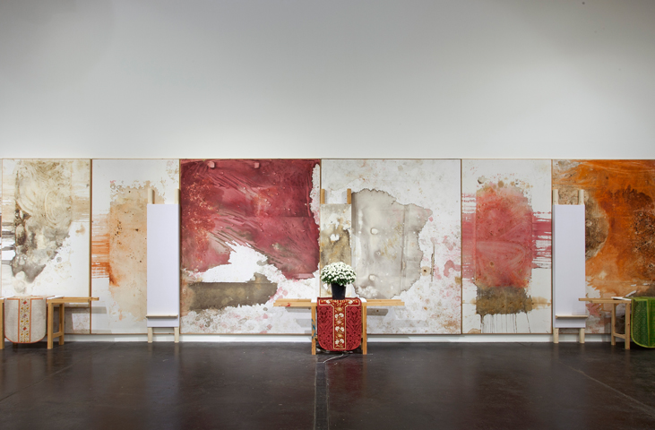 Hermann Nitsch - O.M.T. Colour from the Rite