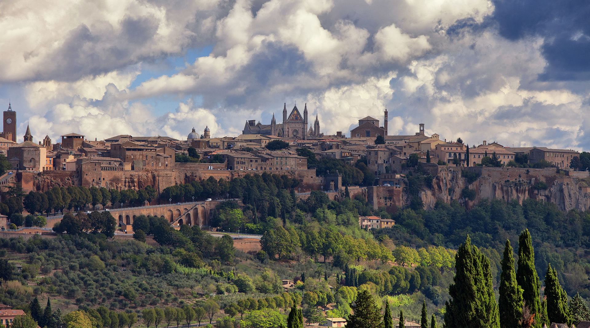 Easter in Orvieto