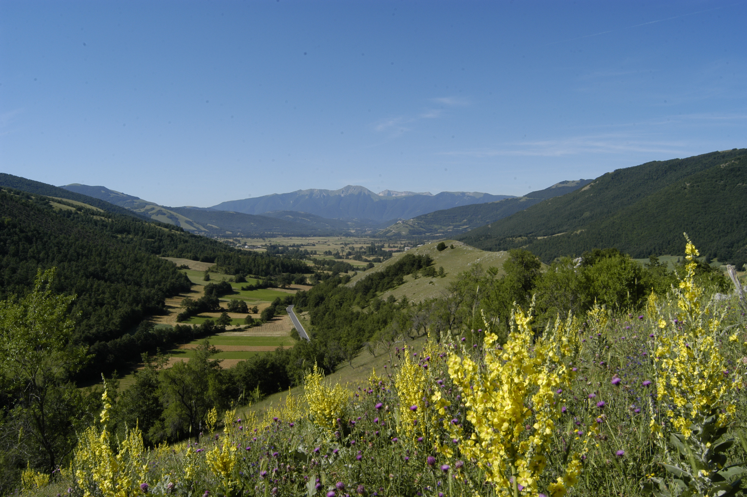 Itineraries in Valnerina