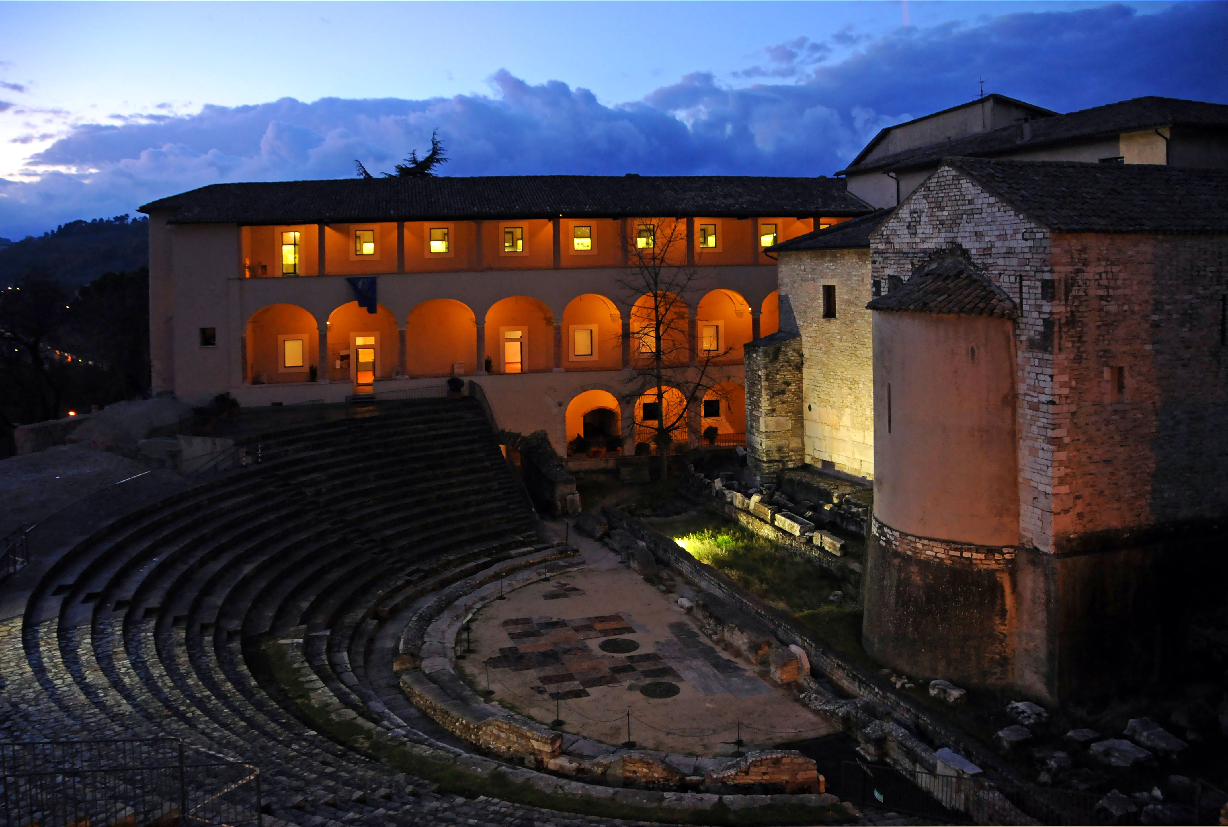 The Roman Theatre in Spoleto