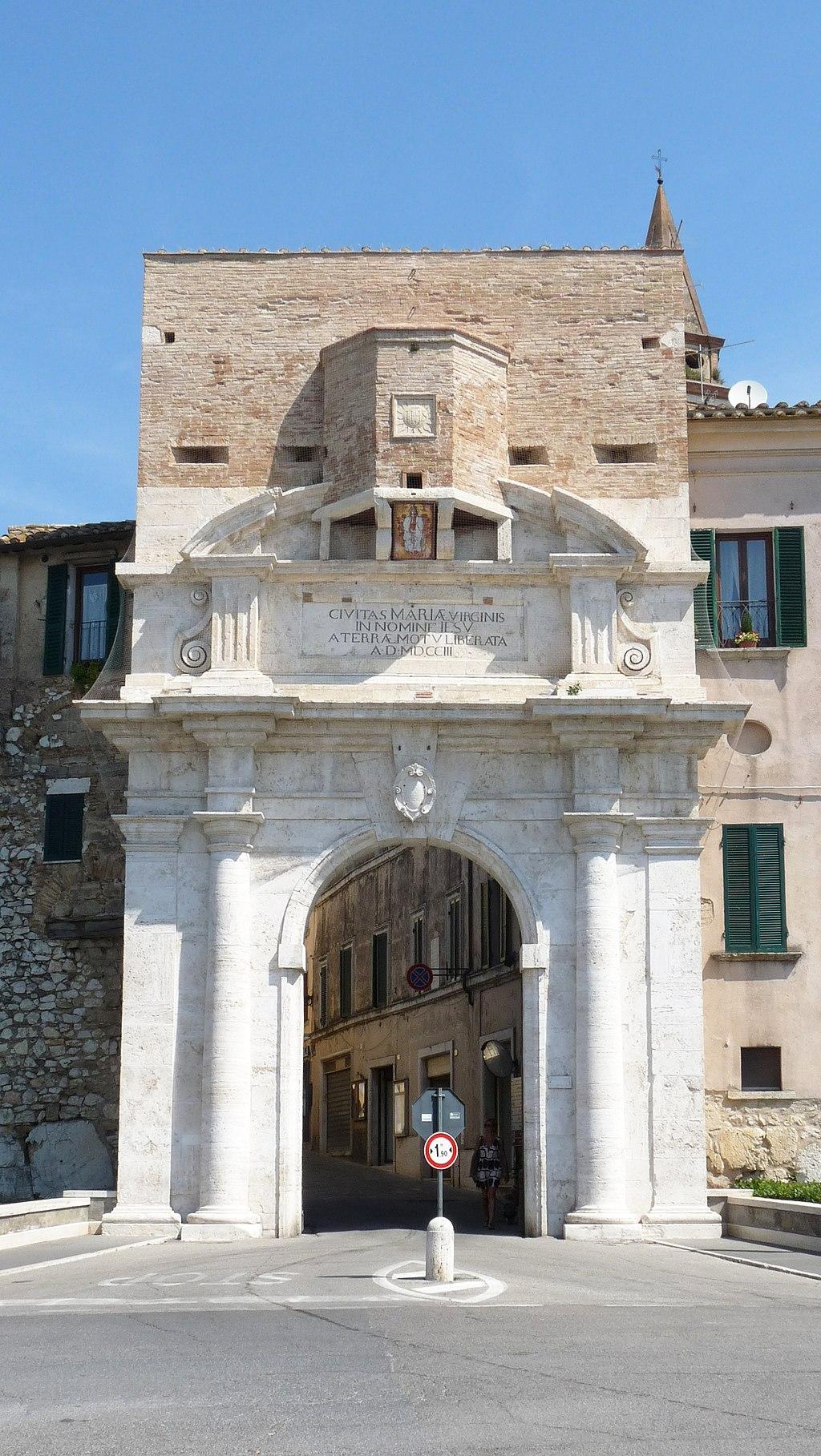 Porta Romana - Amelia | www.umbriatourism.it