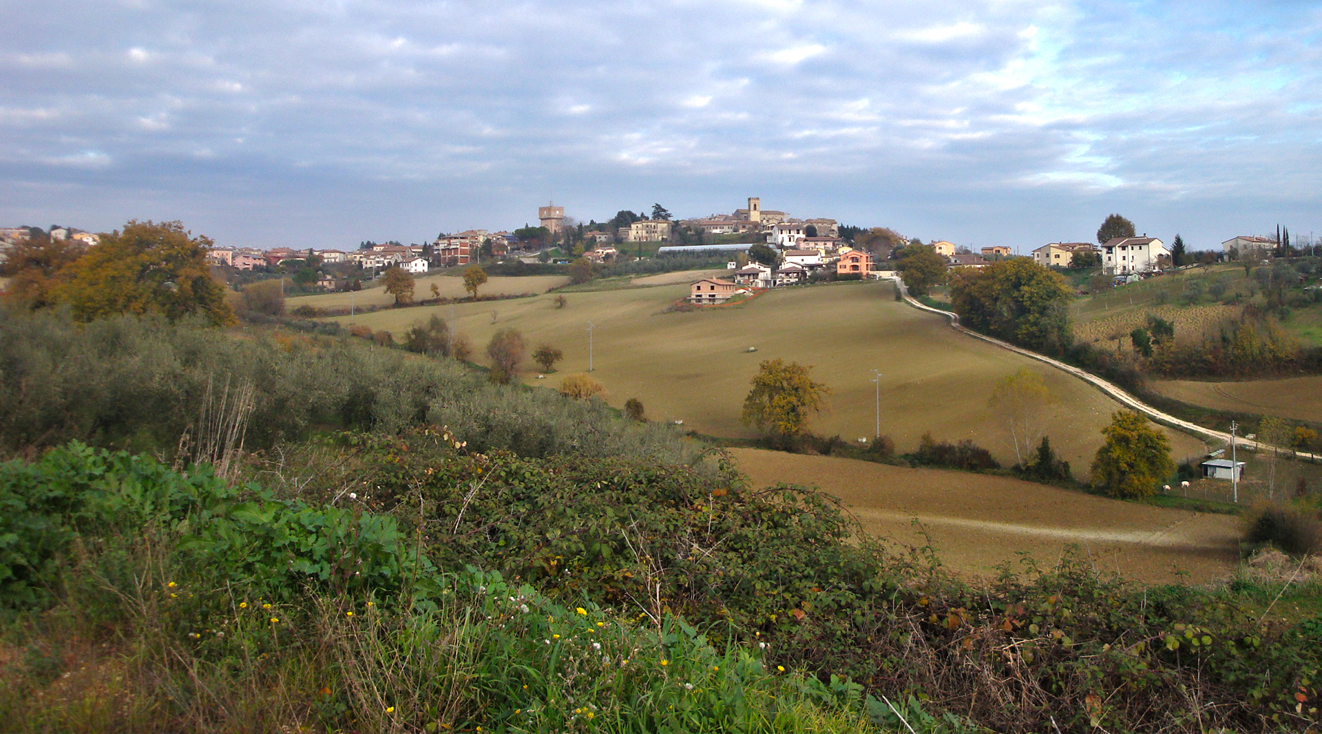 Acquasparta and the Roman ruins of Carsulae