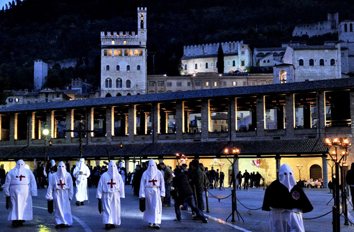 The Holy Week in Umbria