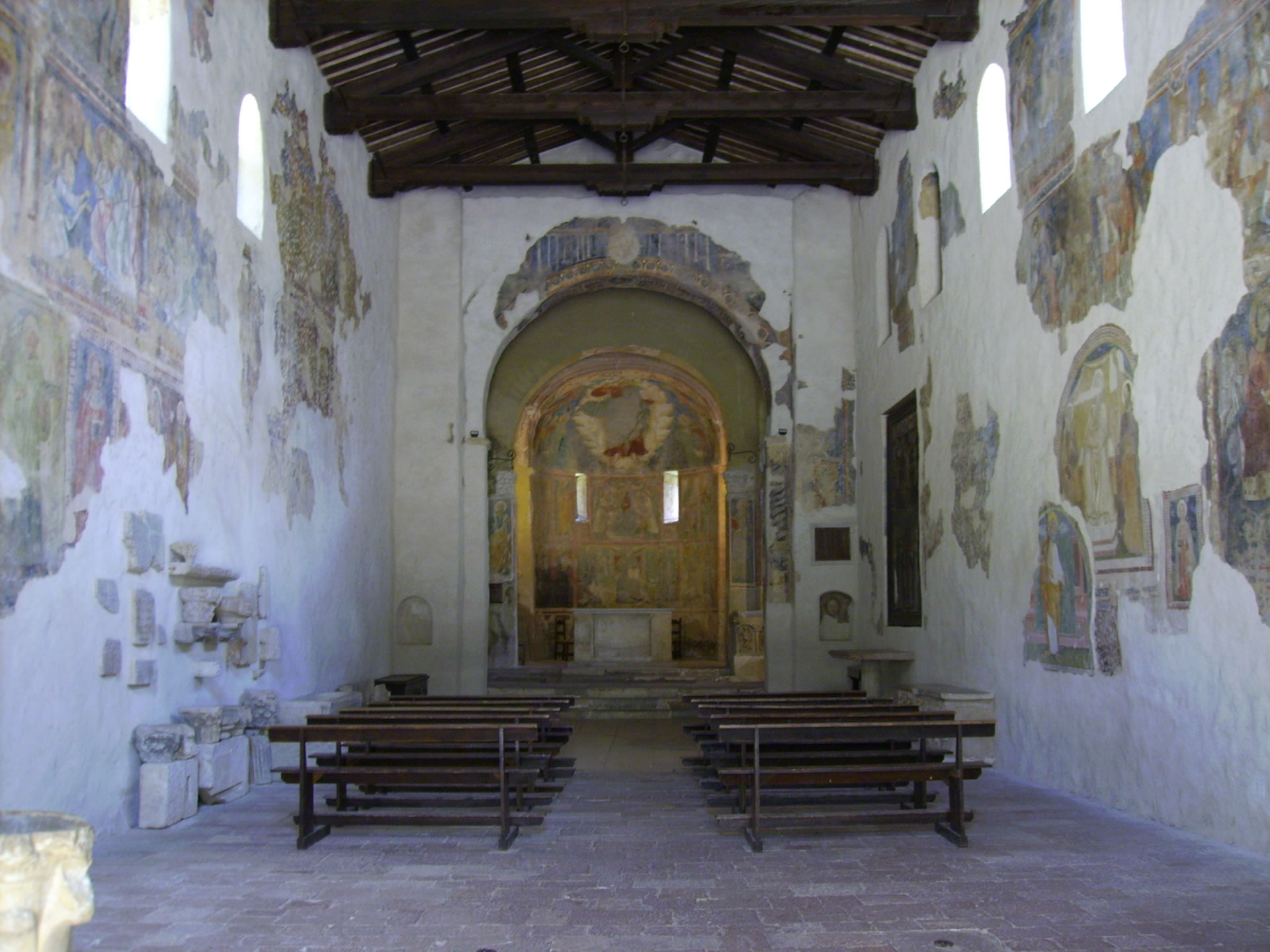Discover the Abbey of San Pietro in Valle