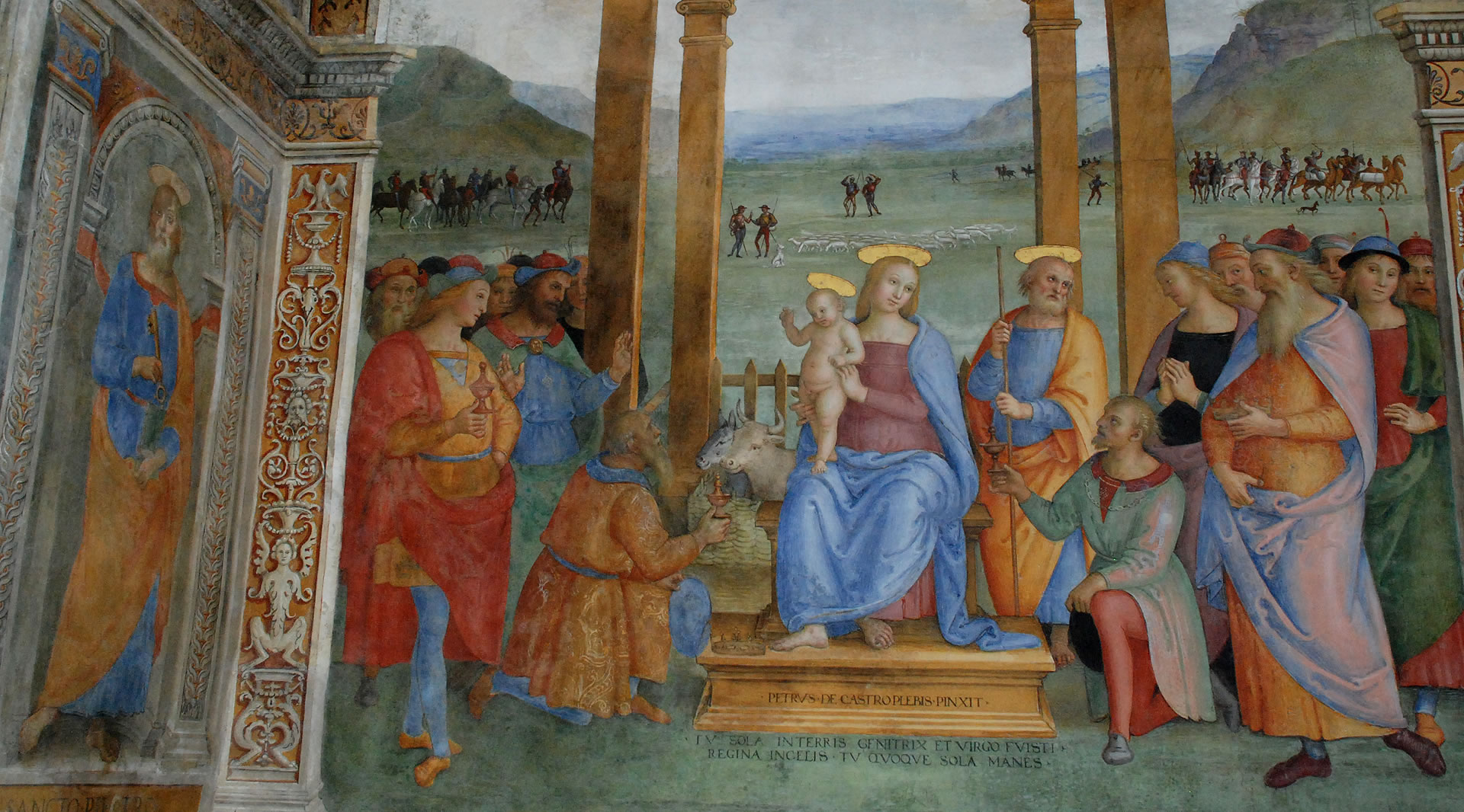 Adoration of the Magi - Trevi