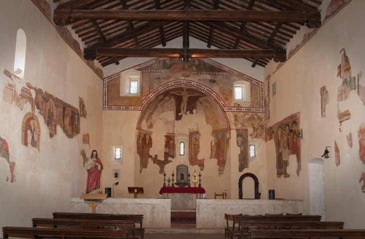Between Umbria and Tuscany: religious itineraries across the Nestore's Valley